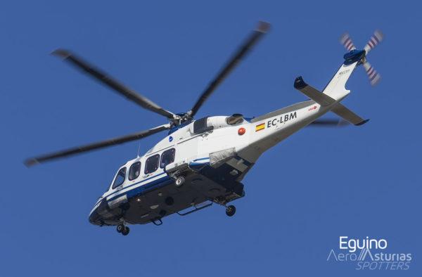 AgustaWestland AW139 (EC-LBM) Babcock España