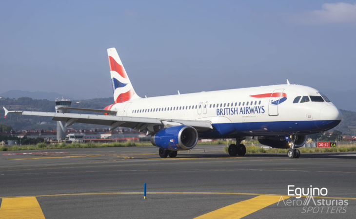 Airbus A320-232 (G-EUYE) British Airways