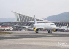 Airbus A320 de Vueling en el Aeropuerto de Bilbao