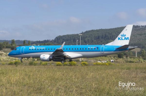 Embraer Emb-190-100 LR (PH-EZN) KLM Cityhopper
