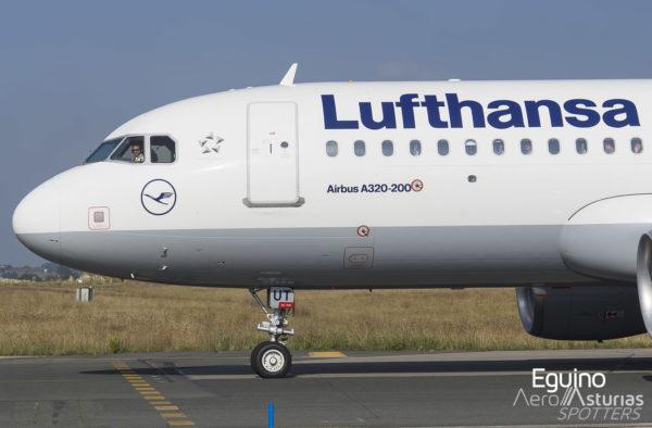 Piloto de A320 de Lufthansa