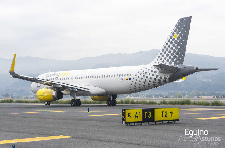 Airbus A320-232(SL) (EC-MJB) Vueling Airlines