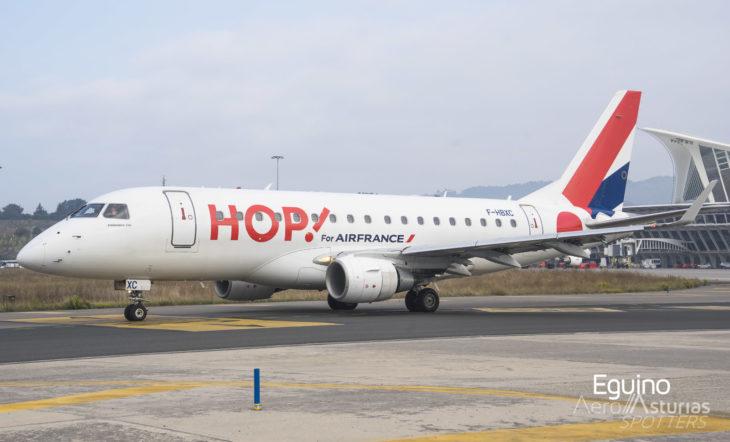 Embraer Emb-170-100LR (F-HBXC) HOP!