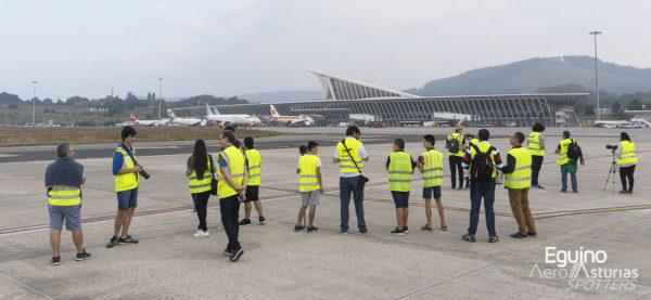 Spotters en el IV Bilbao Open Day