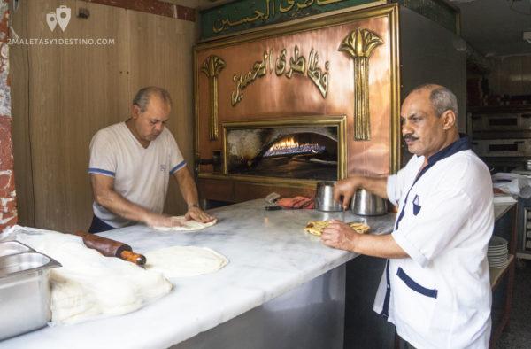 Egyptian pancakes El Cairo