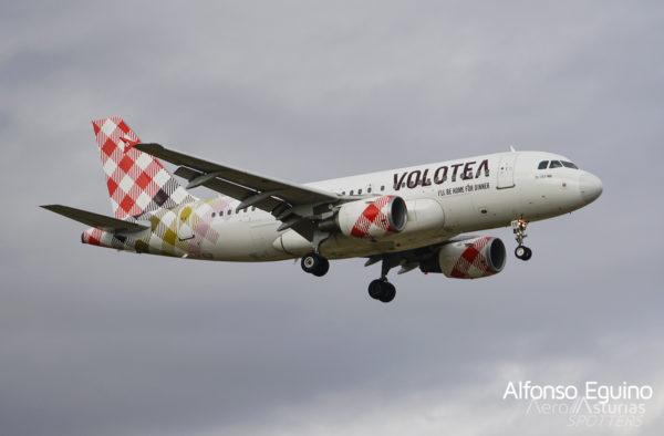 Airbus A319-111 (EC-MTF) Volotea