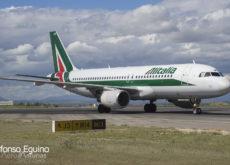 Airbus A320-214 (EI-IKB) Alitalia