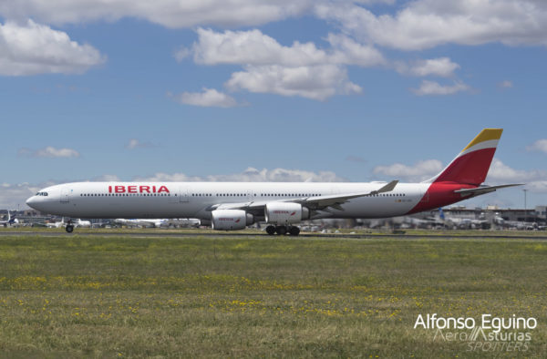 Airbus A340-642 (EC-LEU) Iberia