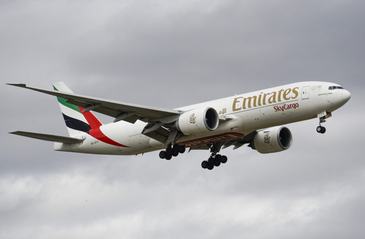 Boeing 777-F1H (A6-EFS) Emirates Airlines