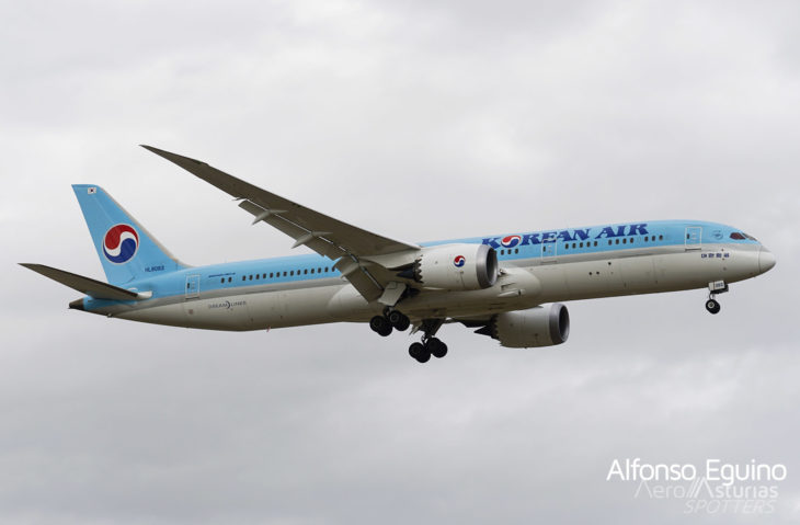Boeing 787-9 (HL8083) Korean Air