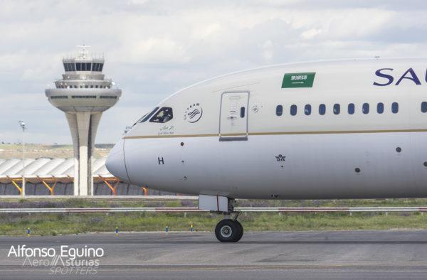 Boeing 787-9 (HZ-ARH) Saudia