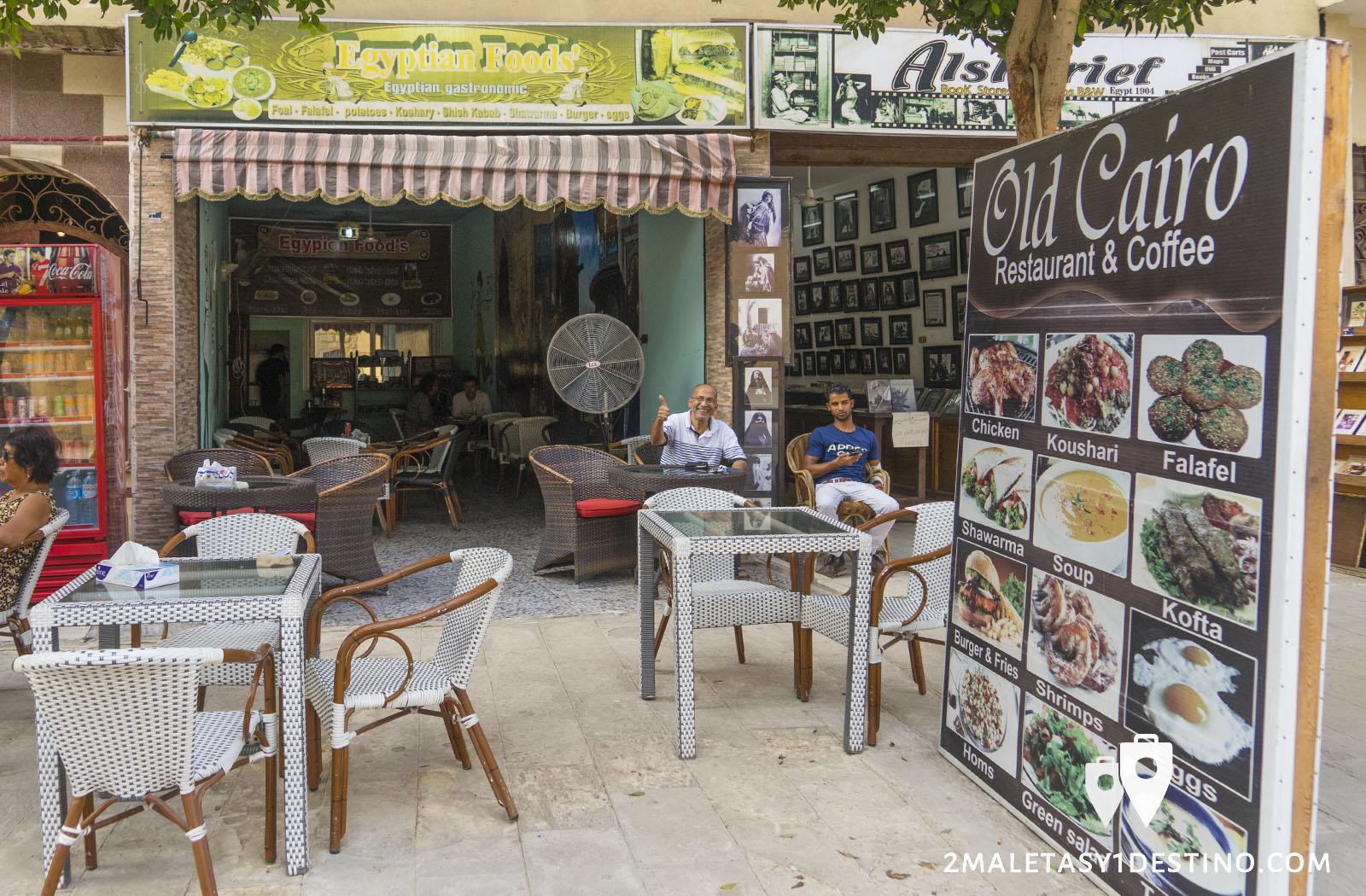 Old Cairo Restaurant & Coffee barrio copto