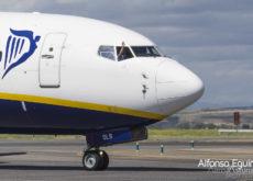 Ryanair saludo piloto