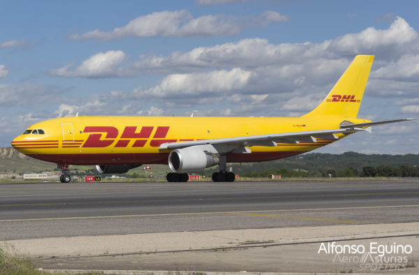 Airbus A300-B4-622R (D-AEAE) DHL Air UK