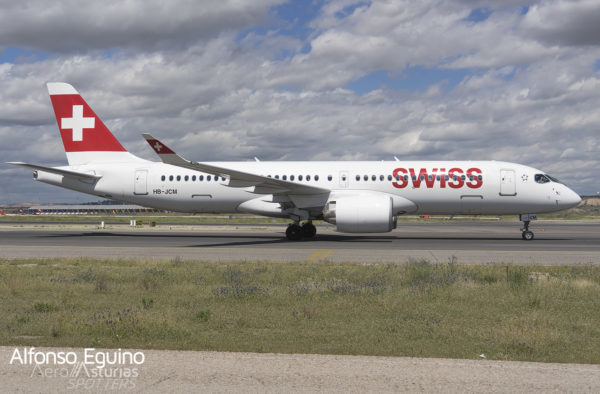 Airbus CS-300-BD-500-1A11 (HB-JCM) Swiss International Air Lines