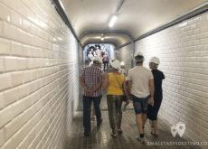Tunel pasadizo Estación Canfranc
