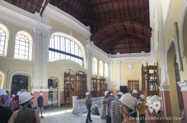 Vestíbulo de la Estación Canfranc