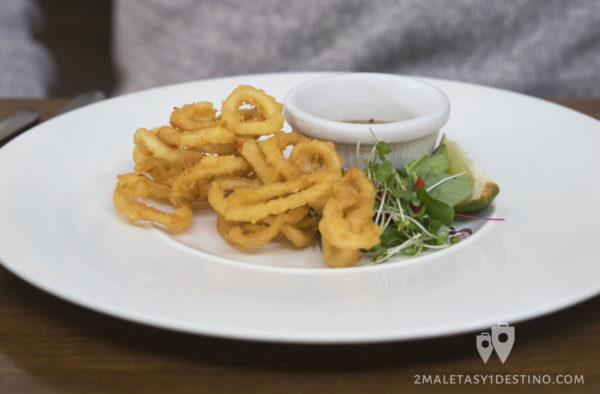 Calamares frescos escoceses Howies