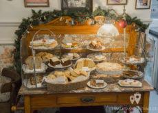 Mesa de bizcochos y galletas