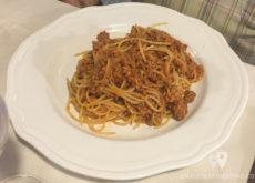 Spaguetti bolonesa