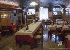 Interior de la Taverna San Trovaso
