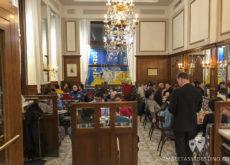 Salón del Cafe Mozart
