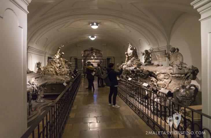 Cripta Imperial de Viena en la Iglesia de los Capuchinos