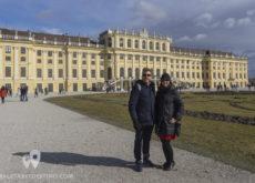 Eguino y Vanina en el Palacio Schönbrunn