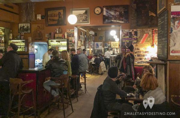 Interior del Kaffee Alt Wien
