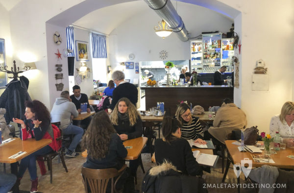 Comedor del Restaurante Art Corner
